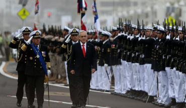 """Piñera gives a speech on patriotism in Iquique: """"Today more than ever we need heroes like Prat"""""""