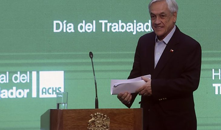 Piñera highlights jobs under his Government in commemoration of the day of the worker