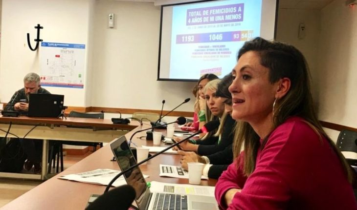 Presented the national Registry of Femicides in deputies: 1193 in 4 years
