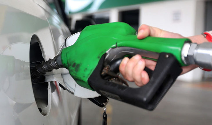 Prices of gasoline and diesel in Michoacan, Wednesday