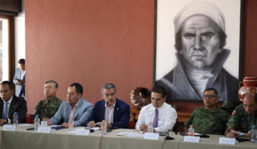 Raúl Morón urges to maintain security strategy permanently in Morelia