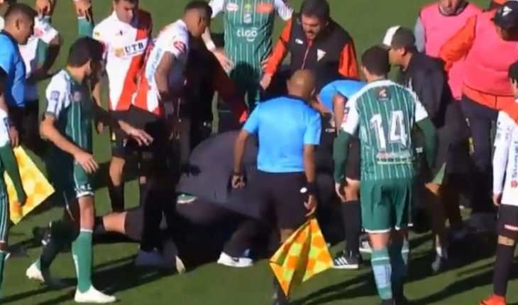 Referee suffers cardiac arrest while conducting a party in Bolivia, dies in hospital