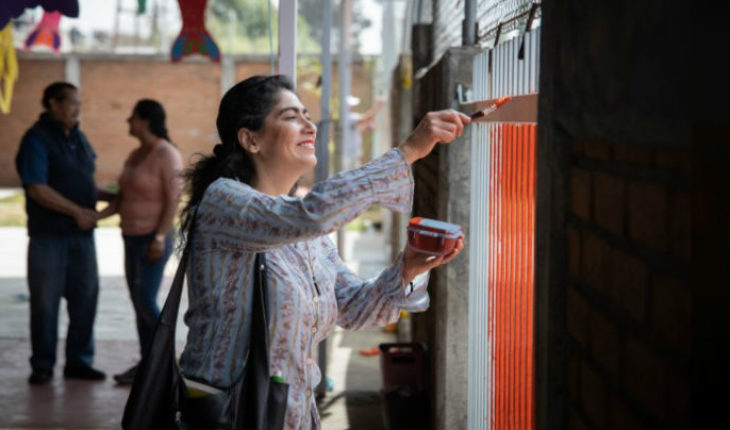 """Start this Saturday second day of """"Together painting My School"""""""