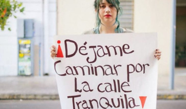 Street harassment: Mendoza runs with advantage