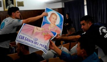 The CGT will ask the Vatican for the beatification of Eva Perón