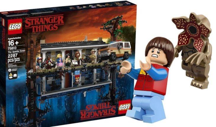 The amazing Lego kit of stranger Things