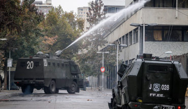 The deterioration of the social contract in Chile: Students do not trust democracy