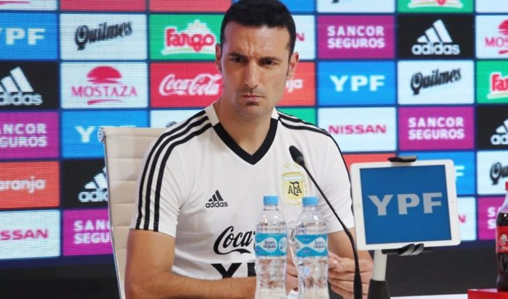 The four names that added Scaloni for the list of the Argentina selection