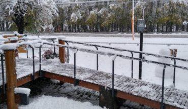 The lowest temperature was recorded in Mendoza