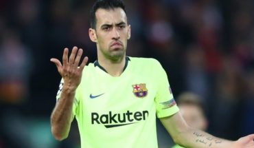"The pain of Busquets after the fall in Anfield: ""Apologise to the hobby"""