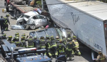 They add up to 4 people dead and 14 wounds after a trailer crash