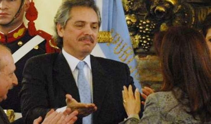This was the announcement of the candidacy to vice president of Cristina Kirchner