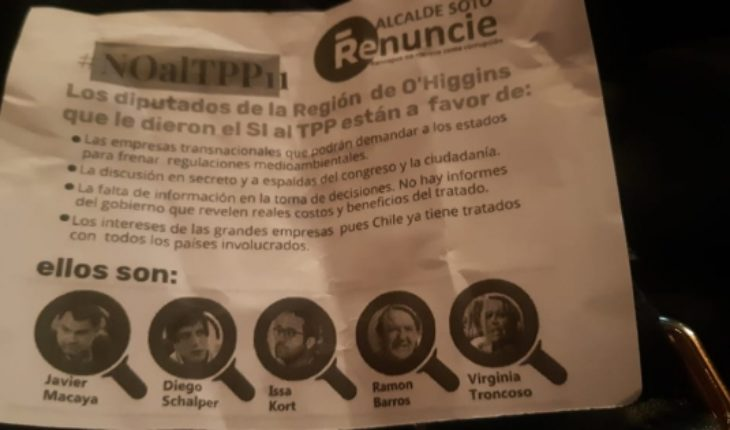 Threatened by supporting TPP-11: UDI members were also white poster