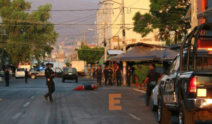 Transit agent killed at rest and truck driver in Zamora, Michoacán