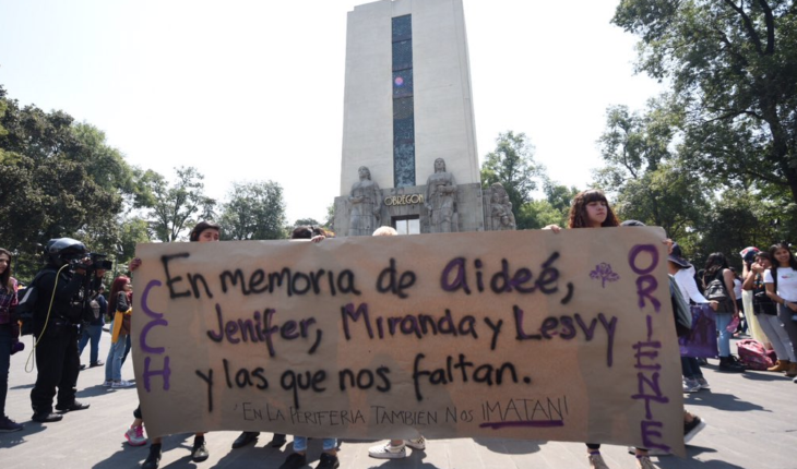 UNAM students March to demand greater security