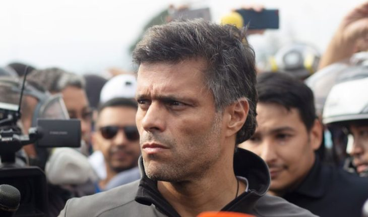 Venezuelan regime issued a warrant of search and seizure against Leopoldo López