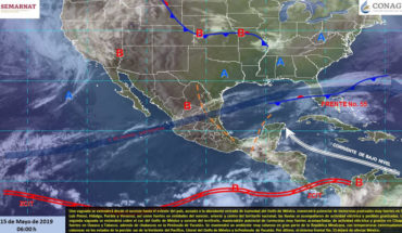 Very strong rains in the northeast, east and southeast of Mexico, very hot atmosphere in much of the Mexican Republic