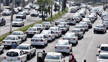 ¿Qué puntos bloqueará el movimiento de taxistas este lunes?