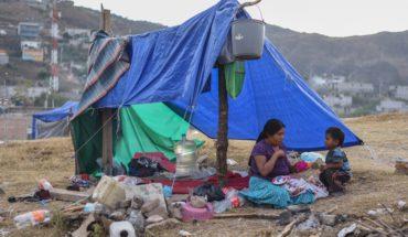 11 mil 437 personas fueron víctimas de desplazamiento en 2018