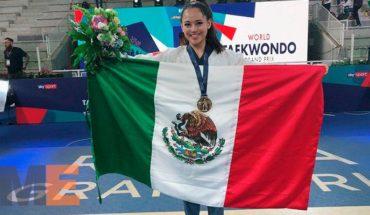 Ana Zulema Mexicana que gana medalla de bronce en Taekwondo