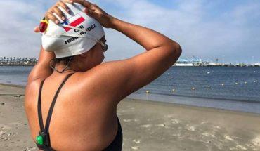 """Bárbara Hernández: """"Quiero ser la primera persona del país en hacer los 7 océanos y pasar a la historia en aguas abiertas"""""""