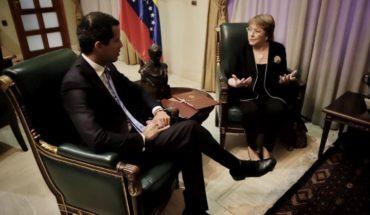 Bachelet se reunió con Juan Guaidó en su última jornada en Venezuela