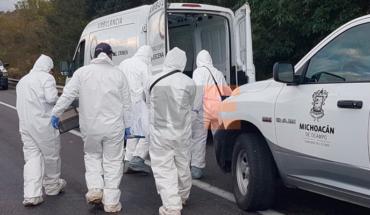Cadáver baleado es hallado en la carretera libre Uruapan-Pátzcuaro