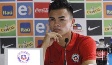 """Gabriel Suazo y la 'Roja' Sub 23: """"Podemos llegar a lograr cosas importantes"""""""
