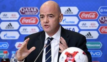 Gianni Infantino fue reelecto como presidente de la FIFA