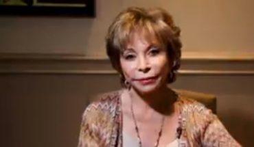Isabel Allende anuncia boda a sus 76 años junto a un nuevo libro