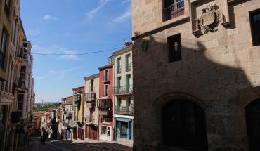 La Europa vacía más allá de los Pirineos. Calle de Balborraz en Zamora (España). Foto: Heparina1985 (trabajo propio) (Wikimedia Commons / CC BY-SA 4.0). Blog Elcano