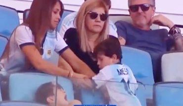 Mateo Messi es furor en las redes por sus travesuras durante la Copa América