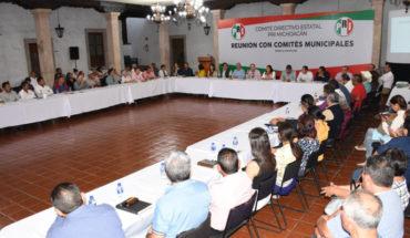 Michoacán, segundo lugar nacional en el programa de Afiliación y Refrendo de la militancia: PRI