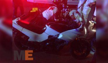 Motociclista es baleado en la Avenida Michoacán