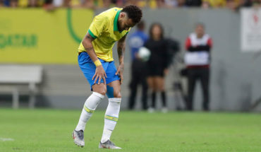 Neymar se perderá la Copa América tras lesionarse en amistoso con Qatar