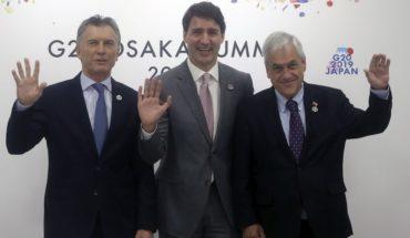 Piñera abordó situación de Venezuela con presidentes del Grupo de Lima