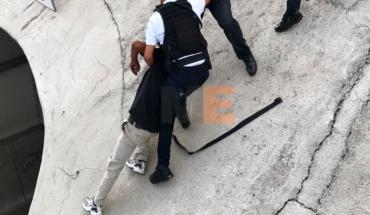 Policía de Morelia evita acto suicida en el distribuidor vial de salida a Quiroga