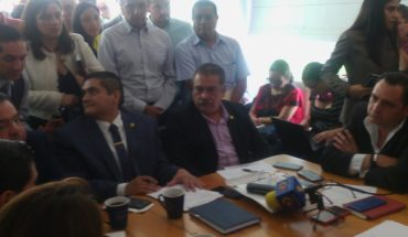 Presenta Raúl Morón proyecto de iluminación a diputados locales