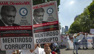Protestan contra AMLO en CDMX y otras ciudades del país