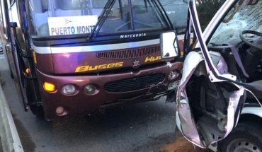 Rotura de matriz en Santiago centro generó corte de suministro y congestión