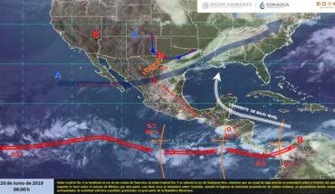 Tormentas fuertes con actividad eléctrica en Michoacán, Guanajuato, Jalisco, Oaxaca y Chiapas