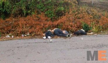 #Uruapan Cuatro personas encontradas Muertas
