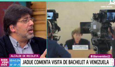 [VIDEO] El acalorado round entre Daniel Jadue y Polo Ramírez en Bienvenidos