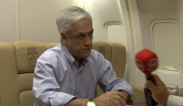 "[VIDEO] Presidente Piñera afirmó que paro de profesores es ""ilegal"""