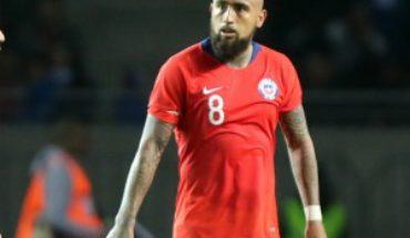 """Vidal entrevistó a Medel y ambos coinciden en que llegar a semifinales en la Copa América sería """"muy importante"""""""