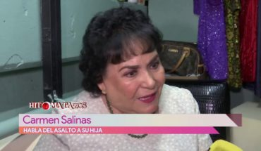 Carmen Salinas habla del asalto a su hija | Vivalavi
