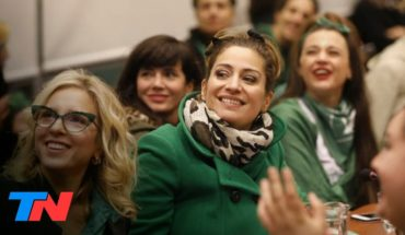 Las actrices argentinas ponen en primer plano el reclamo por el aborto seguro, legal y gratuito