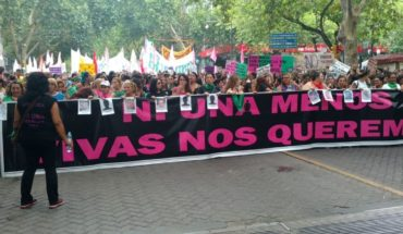 A femicide every 25 hours: in Mendoza The march is also carried out #NiUnaMenos