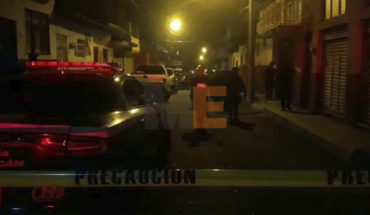 A few steps from his home, traffic police man is killed in Uruapan, Michoacán