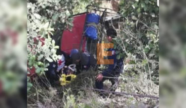 Accident on Carretera de Tlalpujahua, Michoacan, leaves a dead and wounded